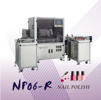 Rotation Single Nozzle Nail Polish Filling Machine